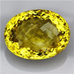 Natural Lemon Citrine Gemstone 69.55 Carats - VVS
