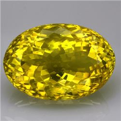 Natural Lemon Citrine Gemstone 57.05 Carats - VVS