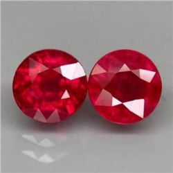 Natural Ruby Pair 5.23 Carats