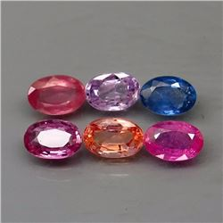 Natural Fancy Color Sapphire 3.64 Ct.