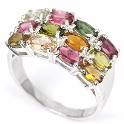 Natural Fancy Tourmaline Ring