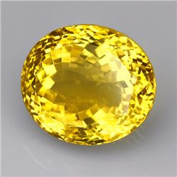 Natural Lemon Citrine Gemstone 27.35 Carats - VVS