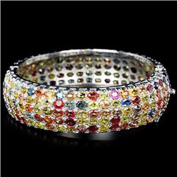 Natural Fancy Color Sapphire 238 Carats Bangle