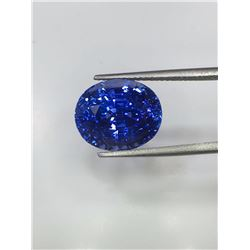 Natural Cornflower Blue Sapphire 10.76 Cts - Untreated