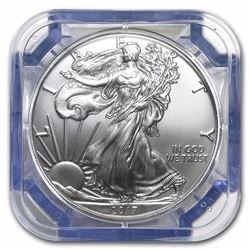 2017 20-Coin .999 PURE Silver Eagle Sealed Tube Gem BU NGC (EARLY RELEASE)