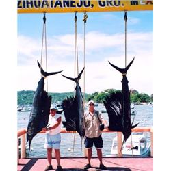 6 Day Deep Sea Fishing Trip in Zihuantanejo, Mexico