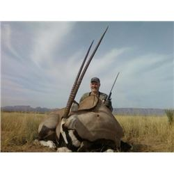 5 Day Trophy Oryx Hunt in New Mexico