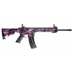 "Smith & Wesson 10212 M& P15-22 Sport Semi-Automatic 22 Long Rifle 16.5"" 25+1 6-Position Muddy Girl S"