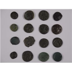 (16) Ancient Coins.