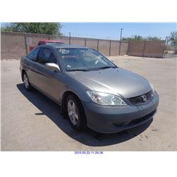 2005 - HONDA CIVIC