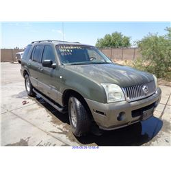 2002 - MERCURY MOUNTAINEER