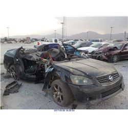2005 - NISSAN ALTIMA // PARTS ONLY