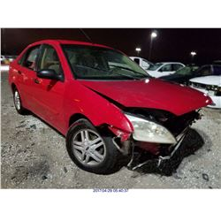 2005 - FORD FOCUS // SALVAGE TITLE