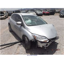 2013 - FORD FOCUS // SALVAGE TITLE