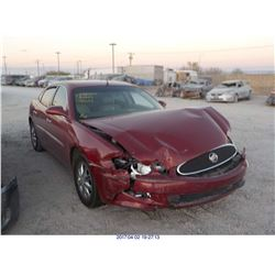 2005 - BUICK LACROSSE // EXPORT ONLY