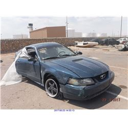 1999 - FORD MUSTANG // SALVAGE TITLE