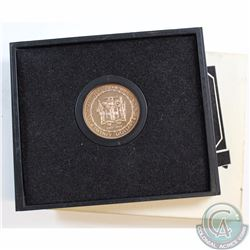 Jamaica; 1972 $20 10th Anniversary of Independence Commemorative Proof Gold Coin in Original Packagi