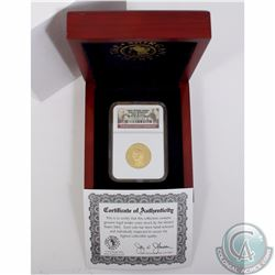 USA; 2007 First Spouse Series Dolley Madison $10 1/2oz .9999 Gold NGC Certified PF-70 Ultra Cameo. C