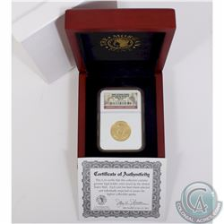 USA; 2008 First Spouse Series Elizabeth Monroe $10 1/2oz .9999 Gold NGC Certified MS-70. Comes in de