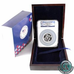 USA; 2014 Sochi Olympic Winter Games 5 ounce Pure Silver Medallion Featuring Speed Skating. This Med
