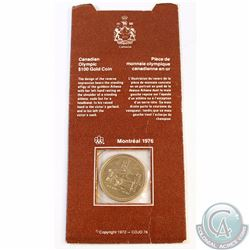 RCM Issue: 1976 Canada $100 Montreal Olympic 14k Gold Coin in Original Cardboard Holder