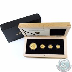 RCM Issue: 2013 Canada Gold Maple Leaf Fractional 4-coin Fine Gold Set (Tax  Exempt)