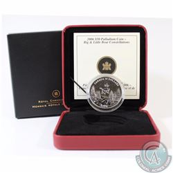 RCM Issue: CANADA 2006 Autumn $50 1oz Palladium Big and Little Bear Constellations. Comes with all o