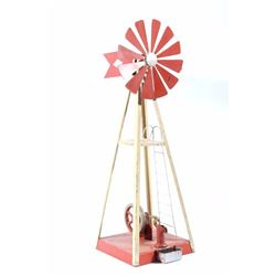 Empire Steam Powered Salesman Sample Windmill Toy