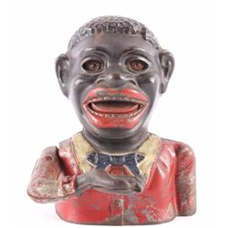 Jolly Black Americana Mechanical Bank 19th Century