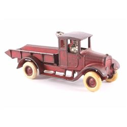 Arcade International Red Baby Dump Truck c.1920