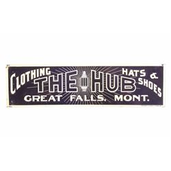 The Hub Original Great Falls Montana Tin Sign