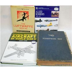 AIRCRAFT HARD COVER BOOKS