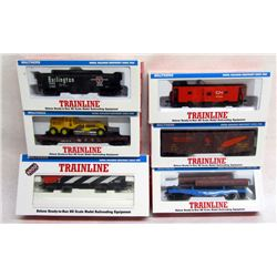 6 TRAINLINE TRAIN CARS