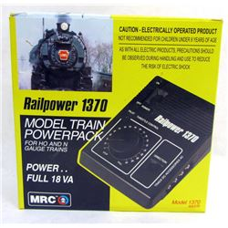 RAILPOWER 1370 MODEL TRAIN POWERPACK
