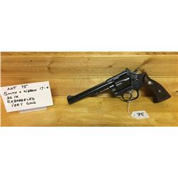 HANDGUN, SMITH & WESSON 17-4 22LR