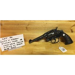 HANDGUN, SMITH & WESSON VICTORY 38SP