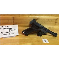 HANDGUN, HIGH STANDARD OLYMPIC, 22S