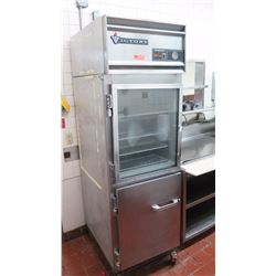 """Victory 2-Compartment Refrigerator/Chiller w/Interior Trays (26.5"""" x 34"""" x 7ft Tall)"""
