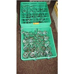 Approx. 30 Wine Glasses, 4 Tall/ 4 Short Drinking Glasses