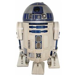 "Complete ""R2-D2"" unit assembled from original components from Episodes IV, V, VI, I & II."