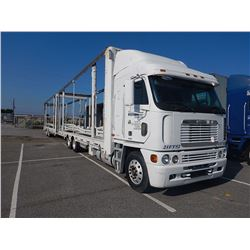 2001 FREIGHTLINER ARGOSY CAR CARRIER TRUCK, VIN/SN:1FVHAWCGX1LH26998 - CAB OVER, T/A, DETROIT ENGINE