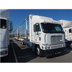 2000 FREIGHTLINER ARGOSY CAR CARRIER TRUCK VIN/SN:1FVXLSEB5YLG42484 CAB OVER, T/A, DETROIT ENGINE, 9