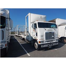 1997 FREIGHTLINER COE FLB CAR CARRIER TRUCK VIN/SN:1FVNBSEB0VL788942 CAB OVER, T/A, DETROIT ENGINE,