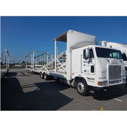 1997 FREIGHTLINER CAR CARRIER TRUCK VIN/SN:1FVXBZYB1VL816390 CAB OVER, T/A, DETROIT DIESEL ENGINE, 1