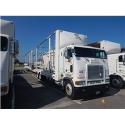 1997 FREIGHTLINER FLB CAR CARRIER TRUCK VIN/SN:1FVNBSEB1VL788948 CAB OVER, T/A, DETROIT DIESEL ENGIN