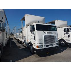 1997 FREIGHTLINER CAR CARRIER TRUCK VIN/SN:1FVXBZYB5VL816392 CAB OVER, T/A, DETROIT DIESEL ENGINE, 1