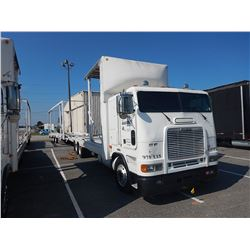 1997 FREIGHTLINER CAR CARRIER TRUCK VIN/SN:1FVXBZYB9VL816394 CAB OVER, T/A, DETROIT DIESEL ENGINE, 1