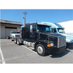 1993 VOLVO/WHITEGMC WIA TRUCK TRACTOR VIN/SN:4V1WDBCHXPN659326 T/A, CAT 3406 ENGINE, 10 SPEED TRANS,