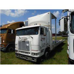 1998 FREIGHTLINER CAR CARRIER TRUCK VIN/SN:1FVXBWEB4W2831762 CAB-OVER, T/A, DIESEL ENGINE, 10 SPD TR