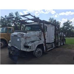 1996 FREIGHTLINER FD1 CAR CARRIER TRUCK VIN/SN:1FUY3EDB1TL669196 T/A, CAT ENGINE, 10 SPEED TRANS, 40